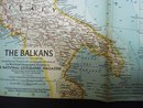 1962  Map of  The Balkans Atlas Plate 39