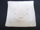 Antique Handkerchief Storage Bag - Embroidery