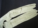 Antique Long Kid Leather Opera Gloves