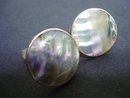 Sterling and Pearl Cuff Links