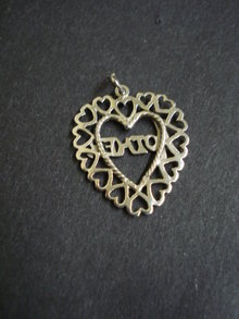 Sterling Pendant or Large Charm Mother