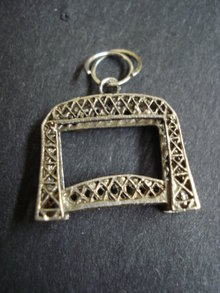 Sterling pendant or large Charm