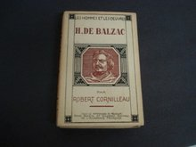 Balzac Book Pages Choisies by Robert Cornilleau Paris