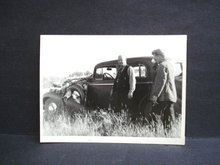 Antique Real Photo - Hunters and Wild Birds