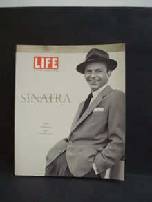Vintage Book Remembering Sinatra in Pictures