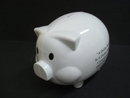 Vintage Saving Bank Cute Pig