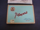 Players Cigarette Tin with Christmas Sleeve