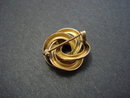 Victorian Gold Top Brooch