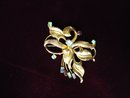 Antique Brooch - Bond Boyd Sterling - Gold Top