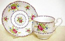 ROYAL ALBERT CHINA  CUP  and SAUCER #1
