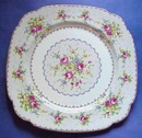 ROYAL ALBERT PETIT POINT DINNER PLATE  #2