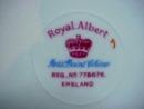 ROYAL ALBERT PETIT POINT DINNER PLATE  #2