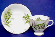 Tea Cup & Saucer Lily of the Valley