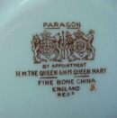 Lovely1951 Royalty Paragon Dish England Bone China