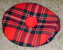 Lovely Scottish Hat / Glengarry Scottish Imports