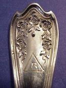 Superb Vintage  Sterling Silver OLIVE FORK