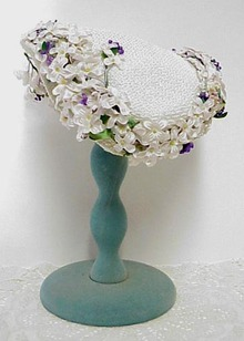 Gorgeous Early 1900's Fancy Ladies Hat