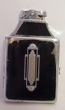 Deco Ronson Lighter & Cigarette Case