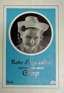 1938 HATS*BAGS*BELTS Crochet Book