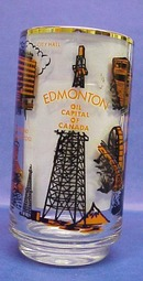 Edmonton OIL Capital of Canada Beer Glass