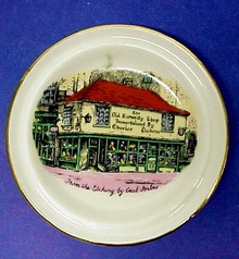 Dickens Old Curiosity Shop BUTTER PAT