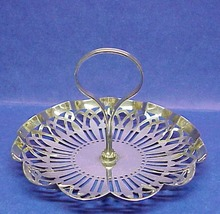 Antique Silver Plate Serving DISH