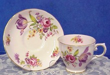 Tuscan English China Cup & Saucer