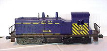 Heavy Lionel Locomotive Toy