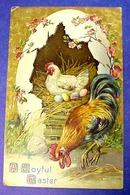 Easter Greetings Postcard Diecast?