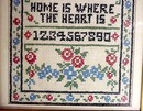 Arts & Crafts Embroidered Sampler