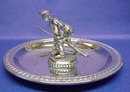 Chrome Figural Trophy - CURLING