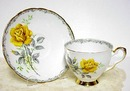 English Tea Cup & Sucer - Rose to Remember
