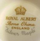 Royal Albert Dinner Plate SILVER MAPLE