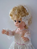 50's Bride Doll by Regal Canada
