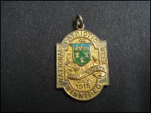 1915 Track field Sports Medal