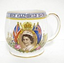 1953 Royalty Mug Queen Elizabeth ll Crowned