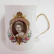1952 - 77  Royalty Mug Q. Elizabeth ll
