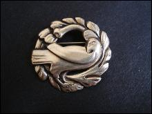 Exquisite Jansen Sterling Brooch by Coro