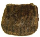 Elegant Antique Brown  MUFF