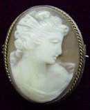 Museum Quality Cameo Brooch/Pendant