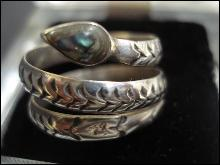Sterling Serpent Ring