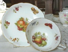 Hammersley China Cup & Saucer FRUITS