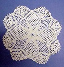 Nice Crocheted Lace Doily