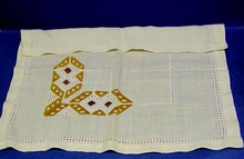 HARDANGER Embroidery Center Piece