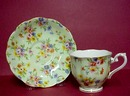 30's  Royal Albert Cup & Saucer CHINTZ