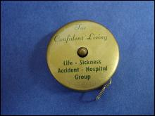 Vintage Retractable Tape Measure-North American Life