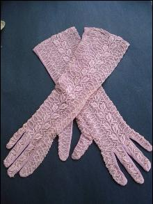 Formal Lace Gloves Womens by Kayser Size 6