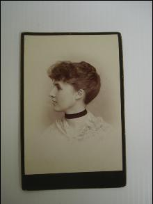 Beautiful Antique Photo - Young Lady