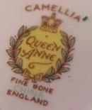 Queen Anne Plate CAMELLIA