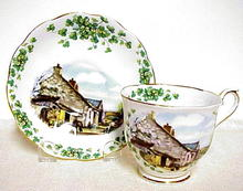 Collectable English Cup & Saucer - Londonderry Air
